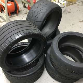 USED TIRES (TOYO & MICHELIN)