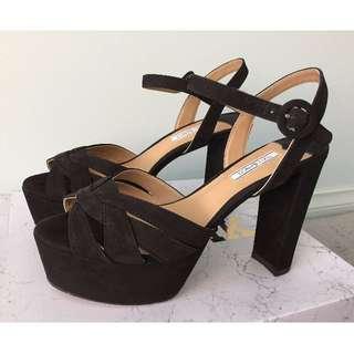 BNIB TONY BIANCO Black Heels - Shai Size 8