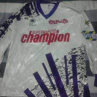 Authentic Vintage FC Toulouse Soccer Football Jersey