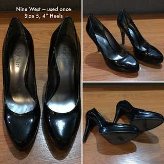Nine West Pumps Used Once Size 5