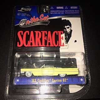 Scarface On Set 63 Cadillac Memorabilia