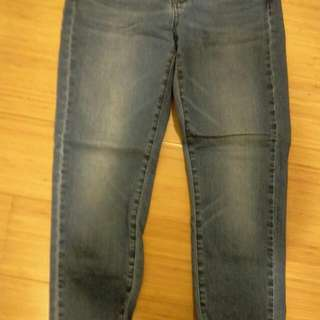 Uniqlo藍色牛仔褲
