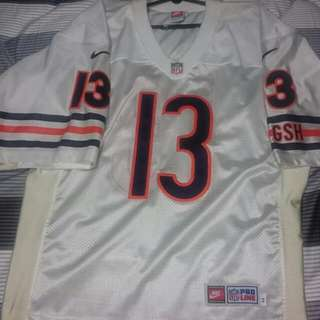 Authentic Nike NFL Pro Line Chicago Bears Football Jersey #13 Rick Mirer