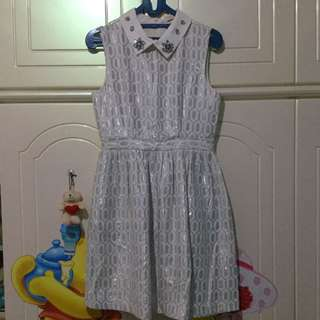 Minimal White Dress