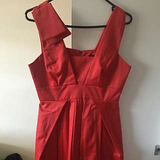 Cue Red Sexy Dress Size 8 💕