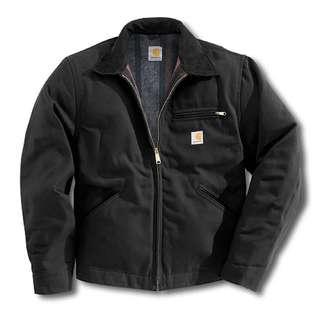 (收)carhartt 底特律 黑色工作夾克