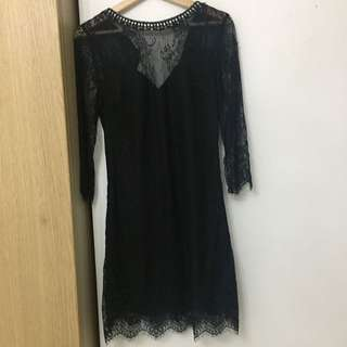 Dorothy Perkins:  A sexy but yet a graceful black lace dress