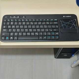 Logitech 無線 Keyboard - K400r