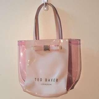 AUTHENTIC Ted Baker Pink Perspex Tote