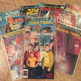 Vintage DC Star Trek Comics - Annuals and special editions