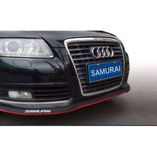 泰国SAMURAI RUBBER BUMPER LIPS (UNIVERSAL FOR ALL CAR TYPE)