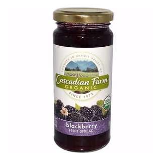 Cascadian Farm 有機黑莓果醬 10盎司(284克)