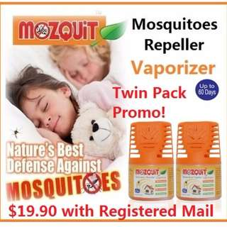 MOZQUIT Mosquitoes Repeller Vaporizer