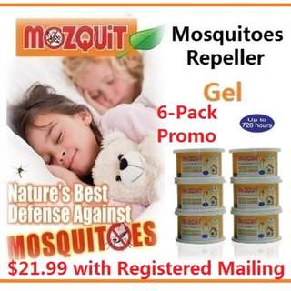 MOZQUIT Mosquitoes Repeller Gel