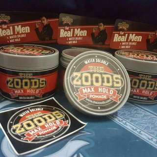 Pomade Zood (unlimited Stock)
