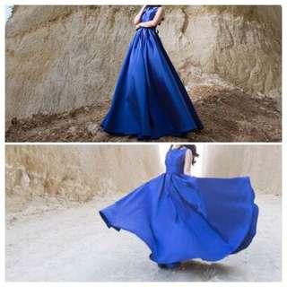 BLUE DRESS (Gaun Pesta Biru)
