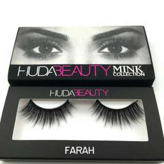 In Stock Hudabeauty Mink Collection (Farah)