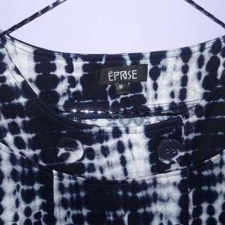 Dress EPRISE blue White