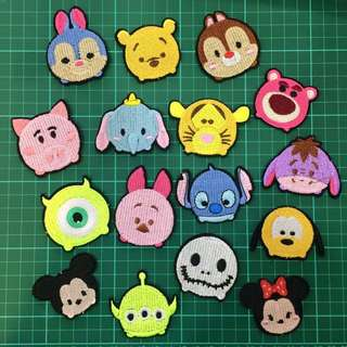 Tsum - Tsum Iron On Patch