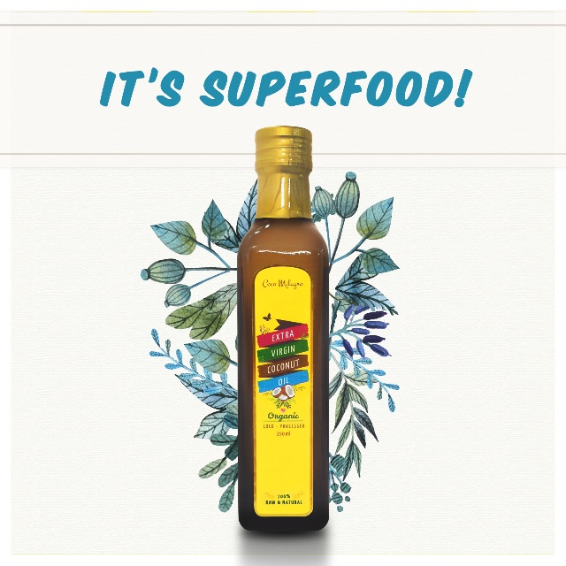 250ml COCO MILAGRO SUPERFOOD (EVCO) - MUI Halal