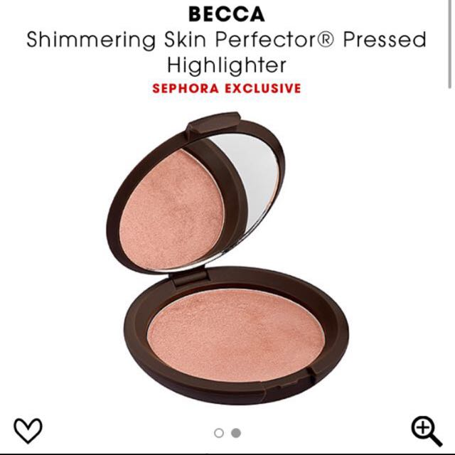 2 Becca Highlighters: Champagne Pop And Rose Gold