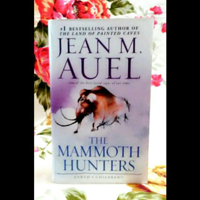 3 Books: The Mammoth Hunters and The Land of the Painted Caves by Jean Auel