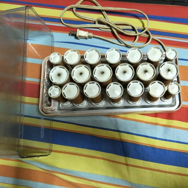 電熱捲髮器