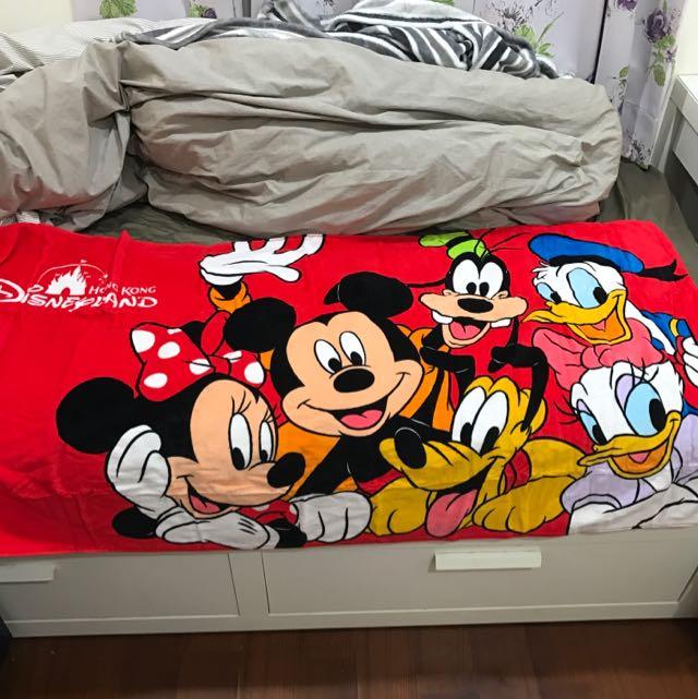 迪士尼卡通毯子