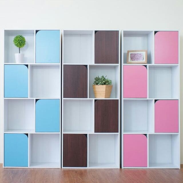 品味風格~四層收納櫃/書櫃/置物櫃