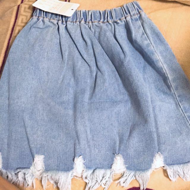 牛仔 丹寧 短裙