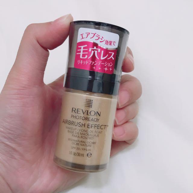 全新 日本購入 REVLON 露華濃3D修片粉底液