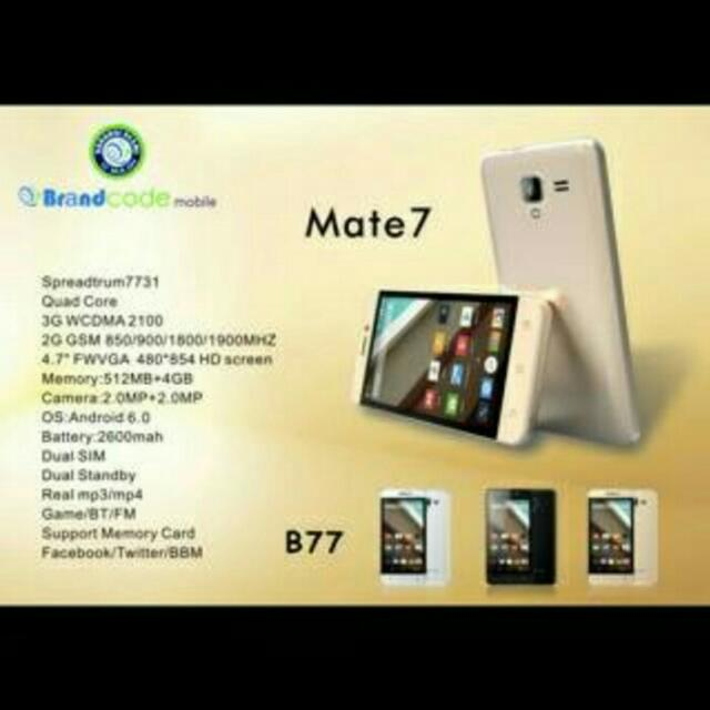 Android Brandcode Mate7 650rb