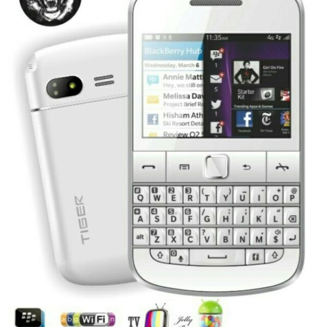 Android Tiger Querty 350rb