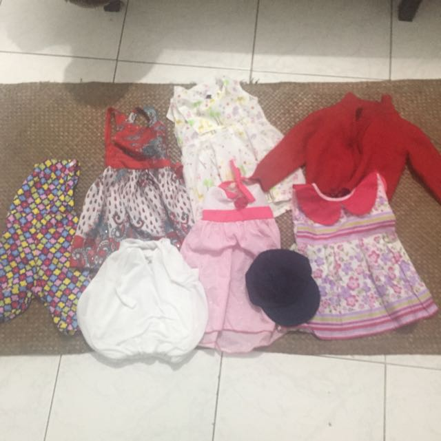 Baby Clothes 12-18 Months (9pcs)