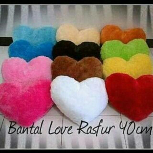 Saleee!!!!  Bantal Sofa Motif Love