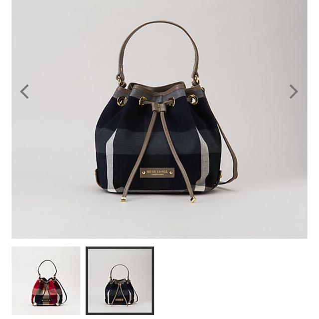 Brand New With Tag Blue Label Crestbridge Bucket Bag 0eeb7b94d16bb