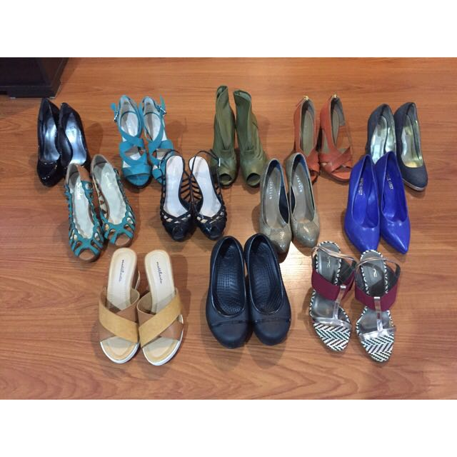 Brand New/Used Once Size 5 Heels. Nine West, Charles&Keith, And More