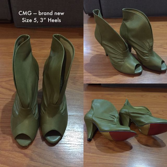 CMG Booties