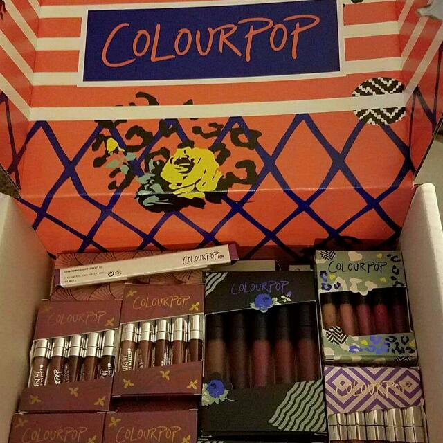 Colourpop Lippies from States