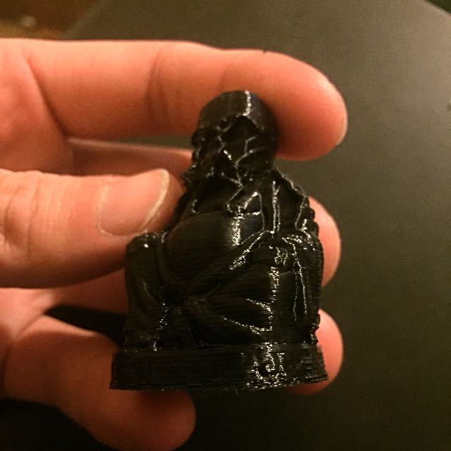 Darth Vader Black Buddha Model