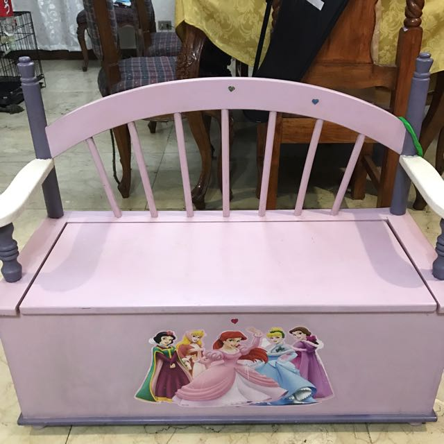 Disney Princess Wooden Sofa For Kids