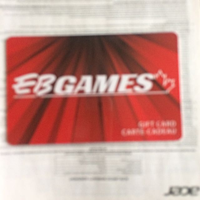 EB Games Gift Card $50