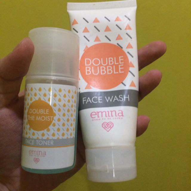 Emina Face Wash & Toner