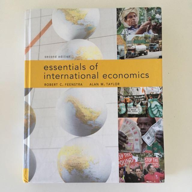 Essentials of International Economics 2nd Edition by Robert C. Feenstra & Alan M. Taylor