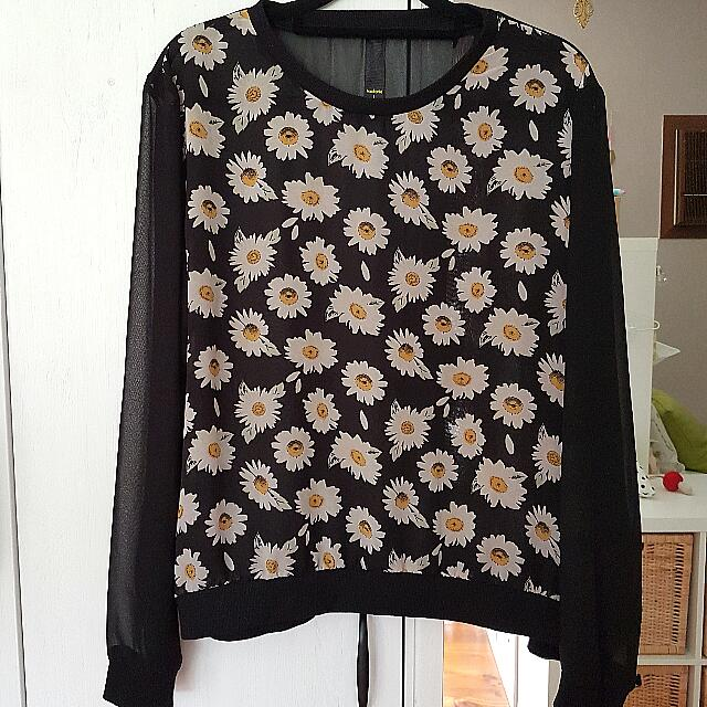 [PRICE DROP] Factorie Daisy Sheer Sweater