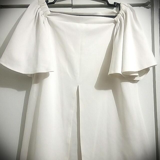 Folded & Hung Off Shoulder TOP (used once)