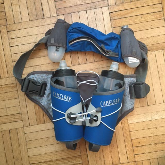 Camelback Fuel Belt With 4 Bottles