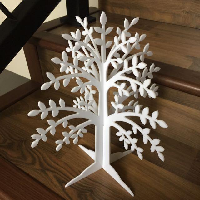 Gantungan anting gelang bahan acrylic