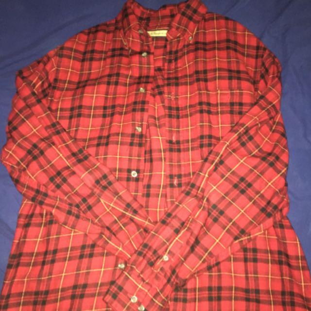 GH Bass Flannel Shirt