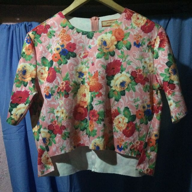 GTW Floral Top